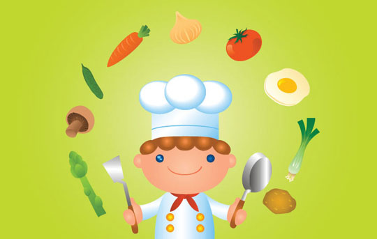 Image result for young masterchefs cartoon