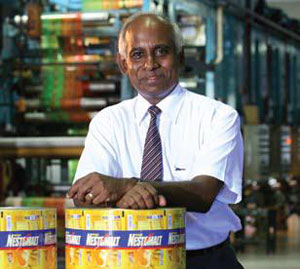 A Nestle Lanka supplier