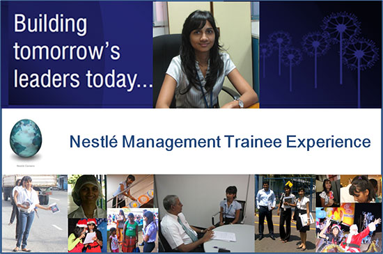 Nestle Management Trainee Experience