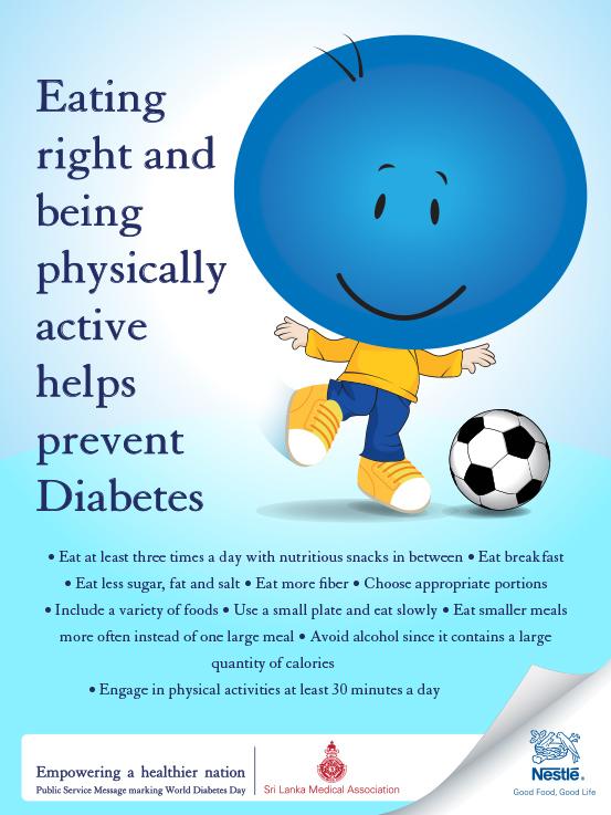diabetes posters for awareness