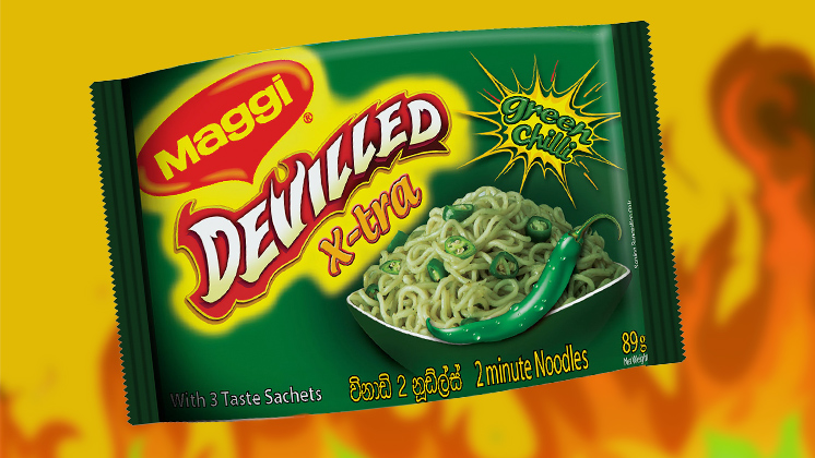 Maggi Devilled X-Tra Green Chilli!