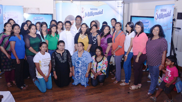 Milkmaid Facebook fans spend a delightful afternoon with Chef Akantha