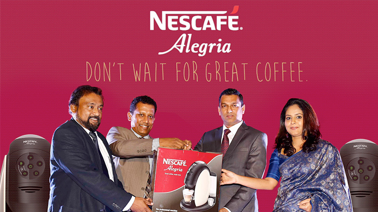 Nestlé Professional and Singer Sri Lanka in collaboration for enhanced Nescafé Alegria distribution