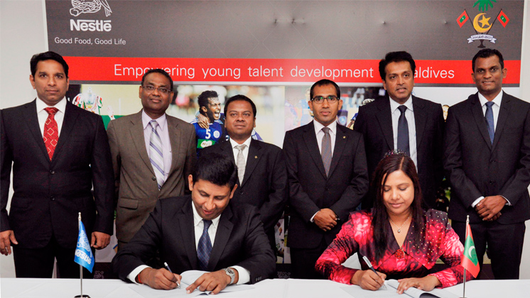 Nestlé Lanka and the Ministry of Education of Maldives sign MoU to empower young talent development in Maldives