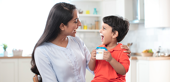 <em>Nestlé Nutrition</em> caters to specific infant and child nutrition needs