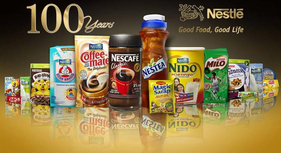Nestlé brands and products